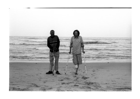 David and Doctor Twala are from Standerton and on a tour of Durban.