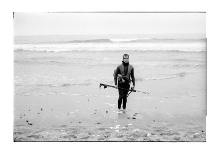 spear fisherman, this is my home, we live here.