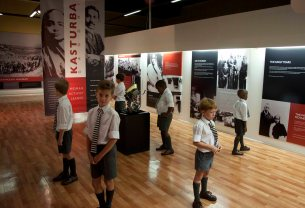 Kasturbai Gandhi Exhibition, Natal Museum, South Africa