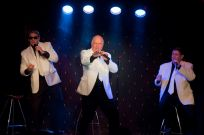 The Gee Jays - John Didlick, Gary McKenzie and Grant Bell OUR WAY BY The Gee Jays, on stage at the RHUMBELOW THEATRE Durban. FRIDAY        08 Sept 2017 Show starts 20.00