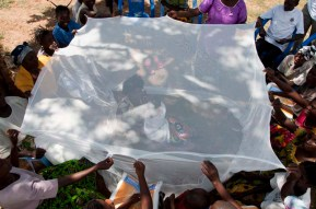 NETS FOR LIFE 14-21 APRIL BUNKEYA DRC CONGO PHOTO/JOHN ROBINSON