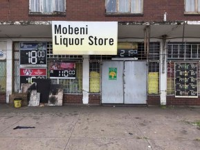 During Covid 19, liquor stores are closed for business